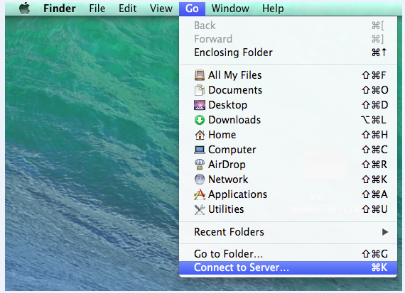 how to add network drive on mac